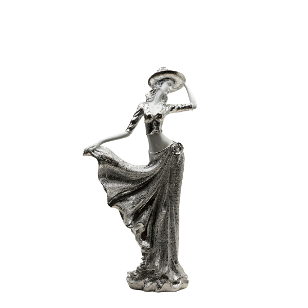 Silver Dancing Lady