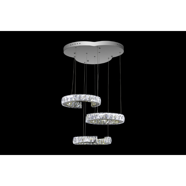 Enso Ring Trio Chandelier