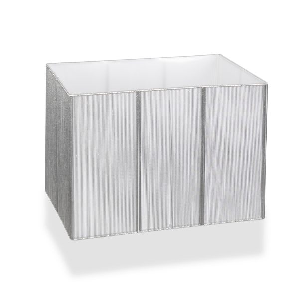 Silver Rectangular Shade