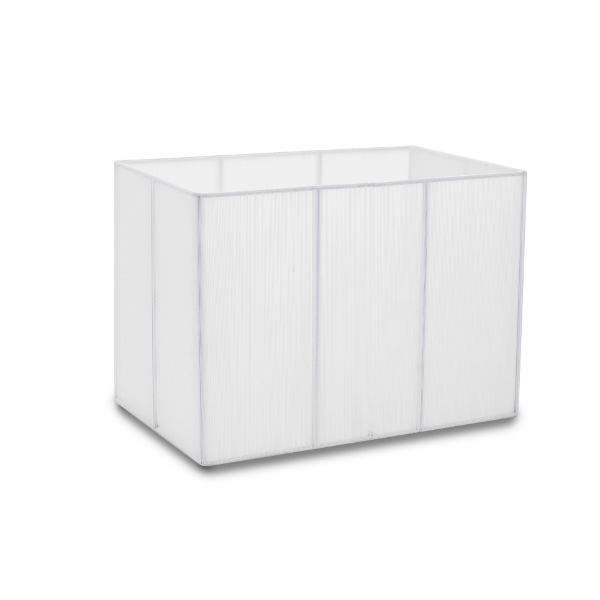 White Rectangular Shade