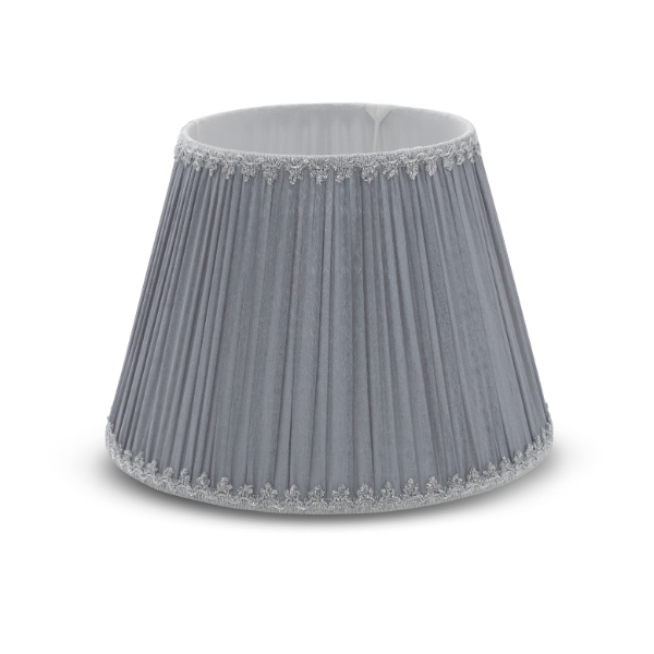 Light Grey Drum Shade