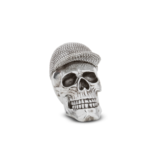 Skull with Bejeweled Cap