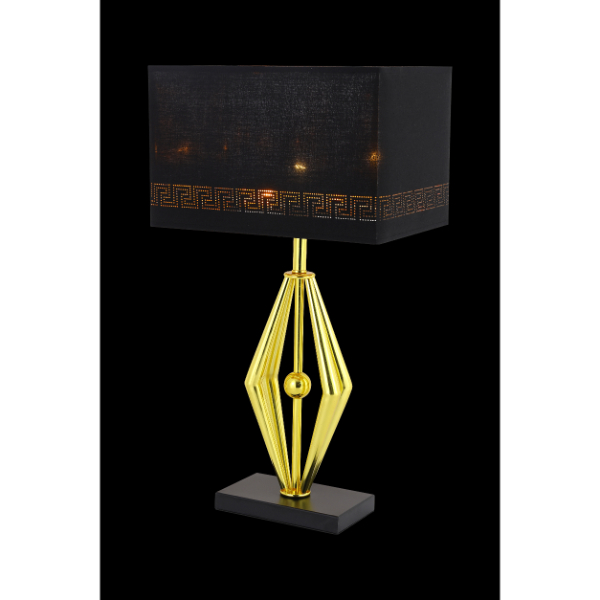 Gold Prism Table Lamp