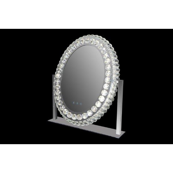 Daisy LED Table Mirror