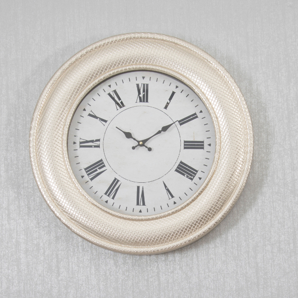 Tanner Gold Wall Clock