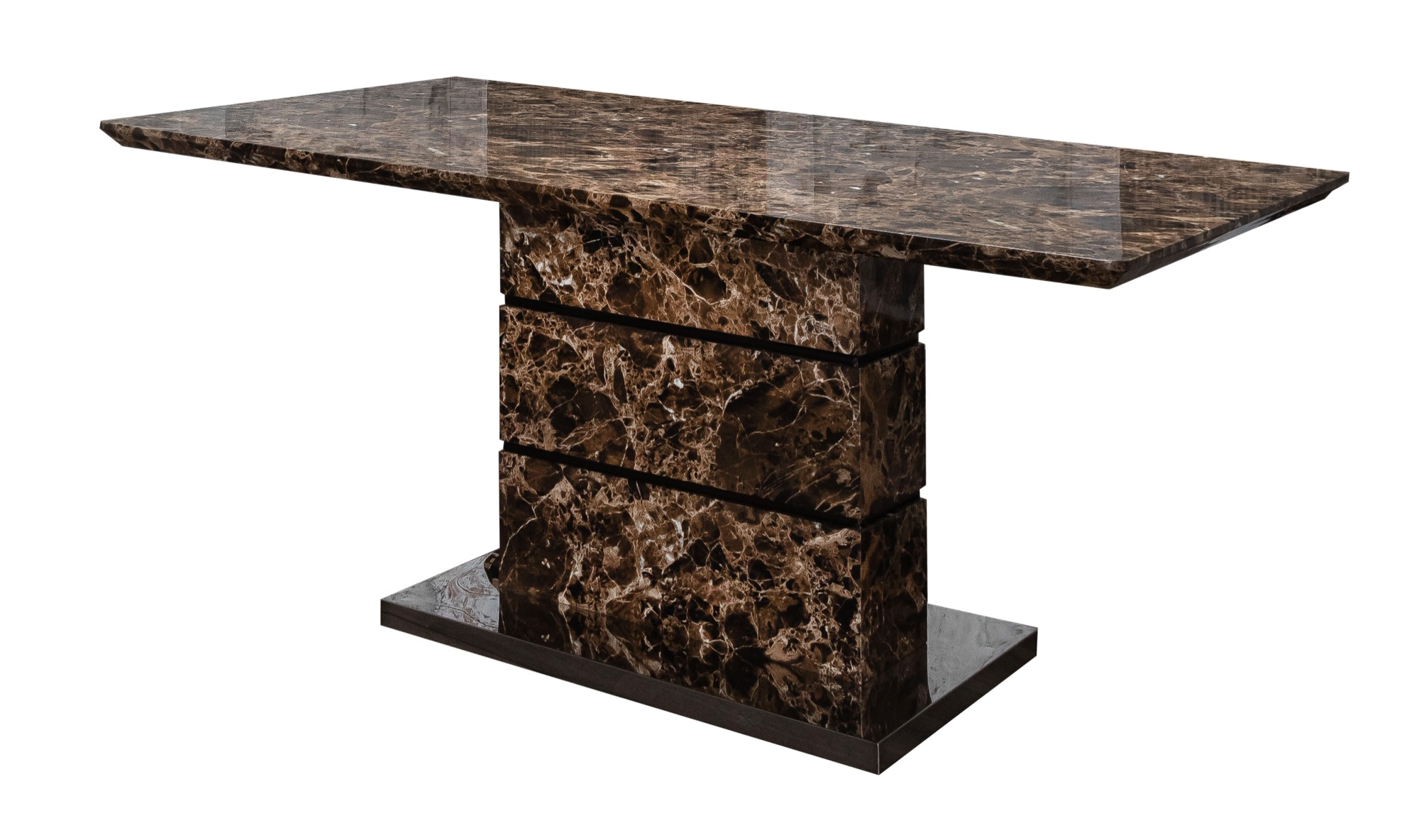 Enigma Brown Dining Table