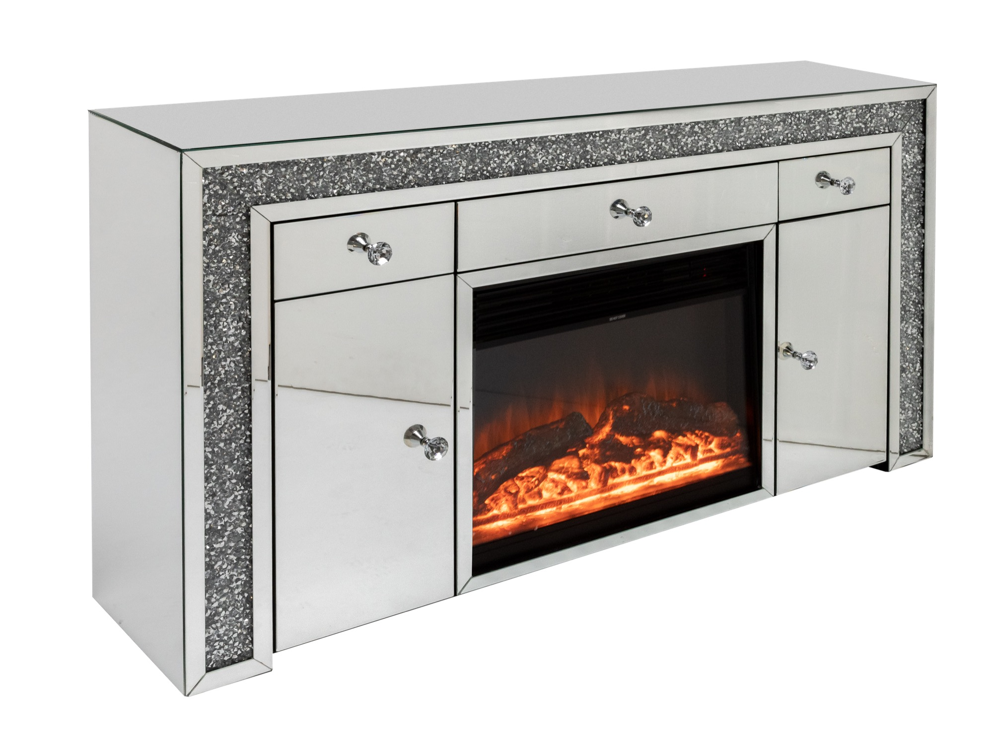 Serapane Sideboard with Fireplace