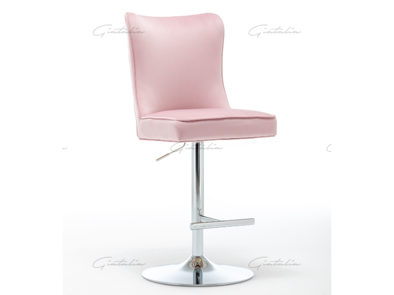 Lily Pink Barstool