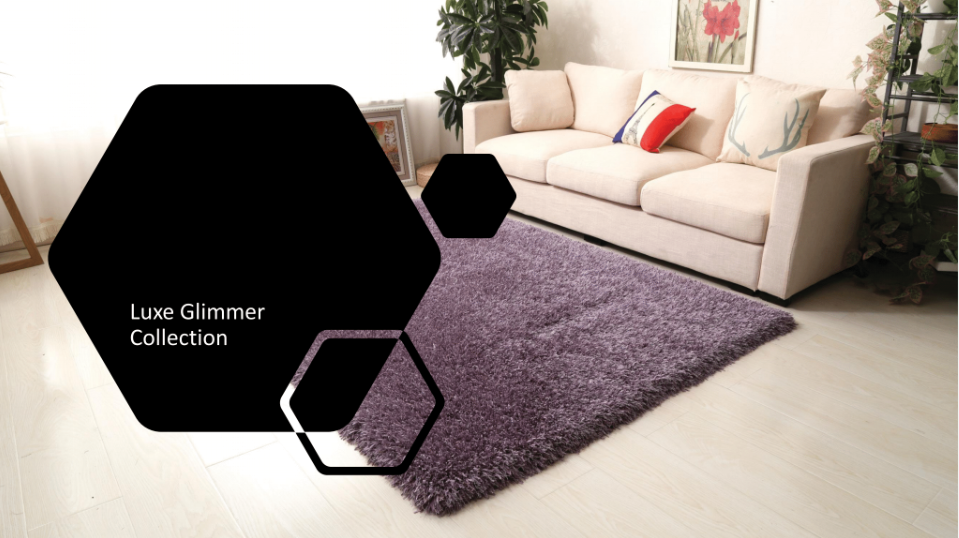 Luxe Glimmer Rugs