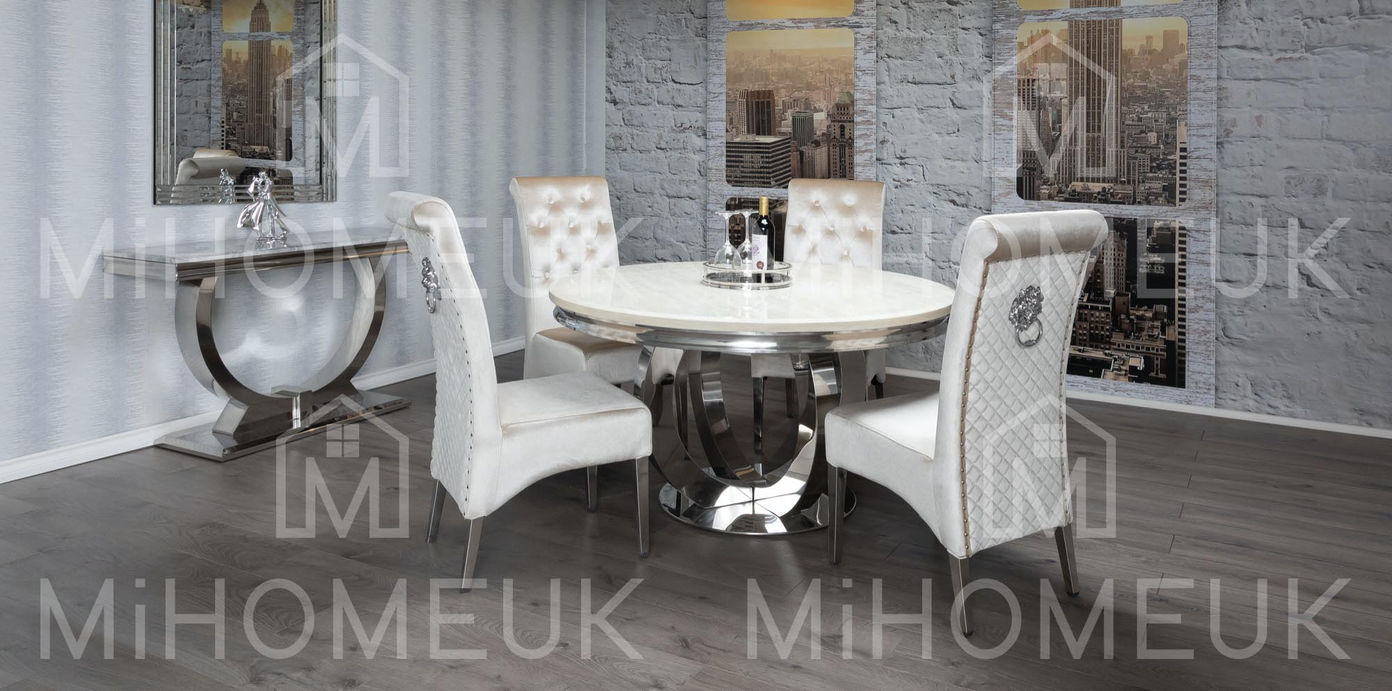 Ariana Round Dining Table Sets