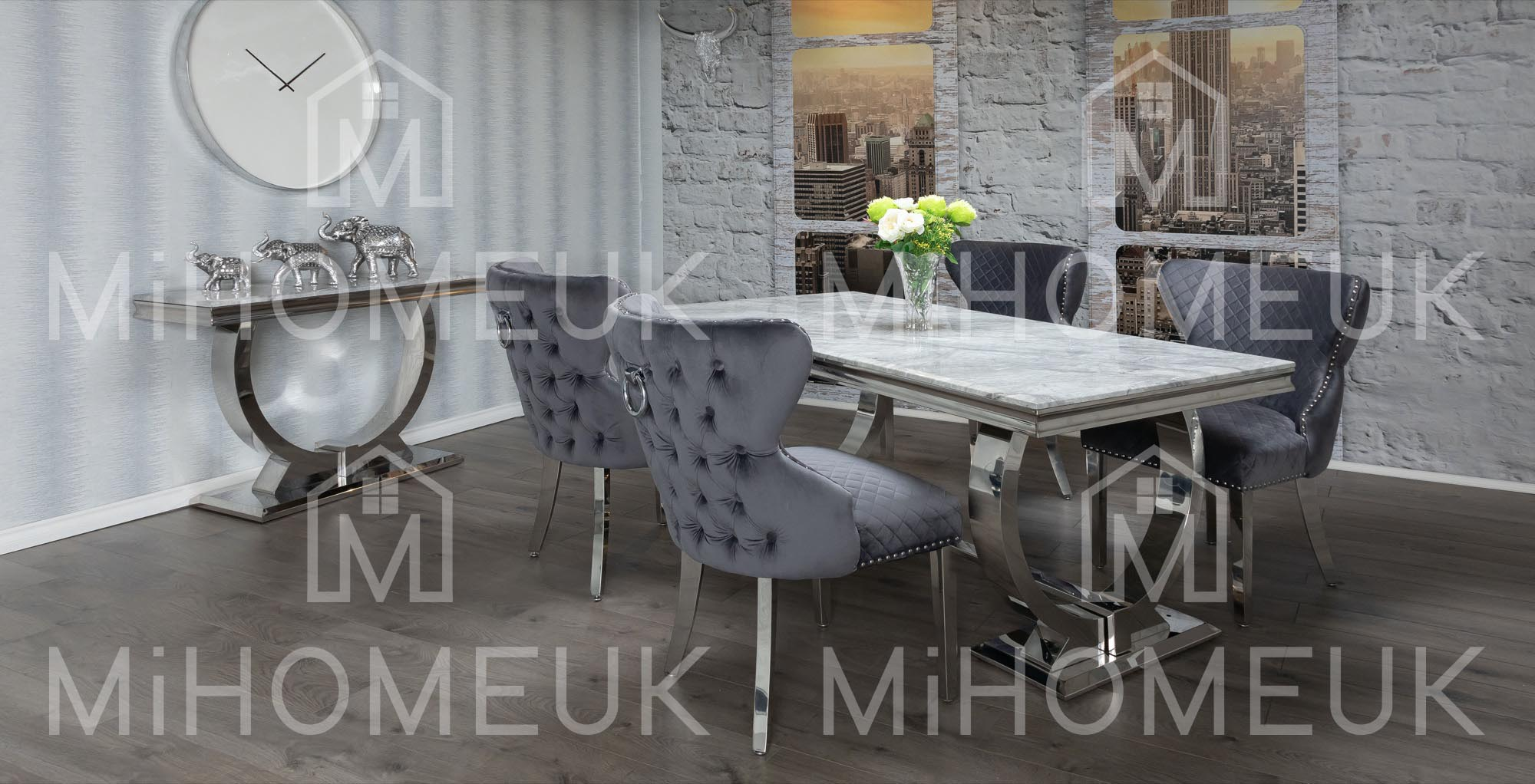 Ariana 1.8m Dining Table Sets